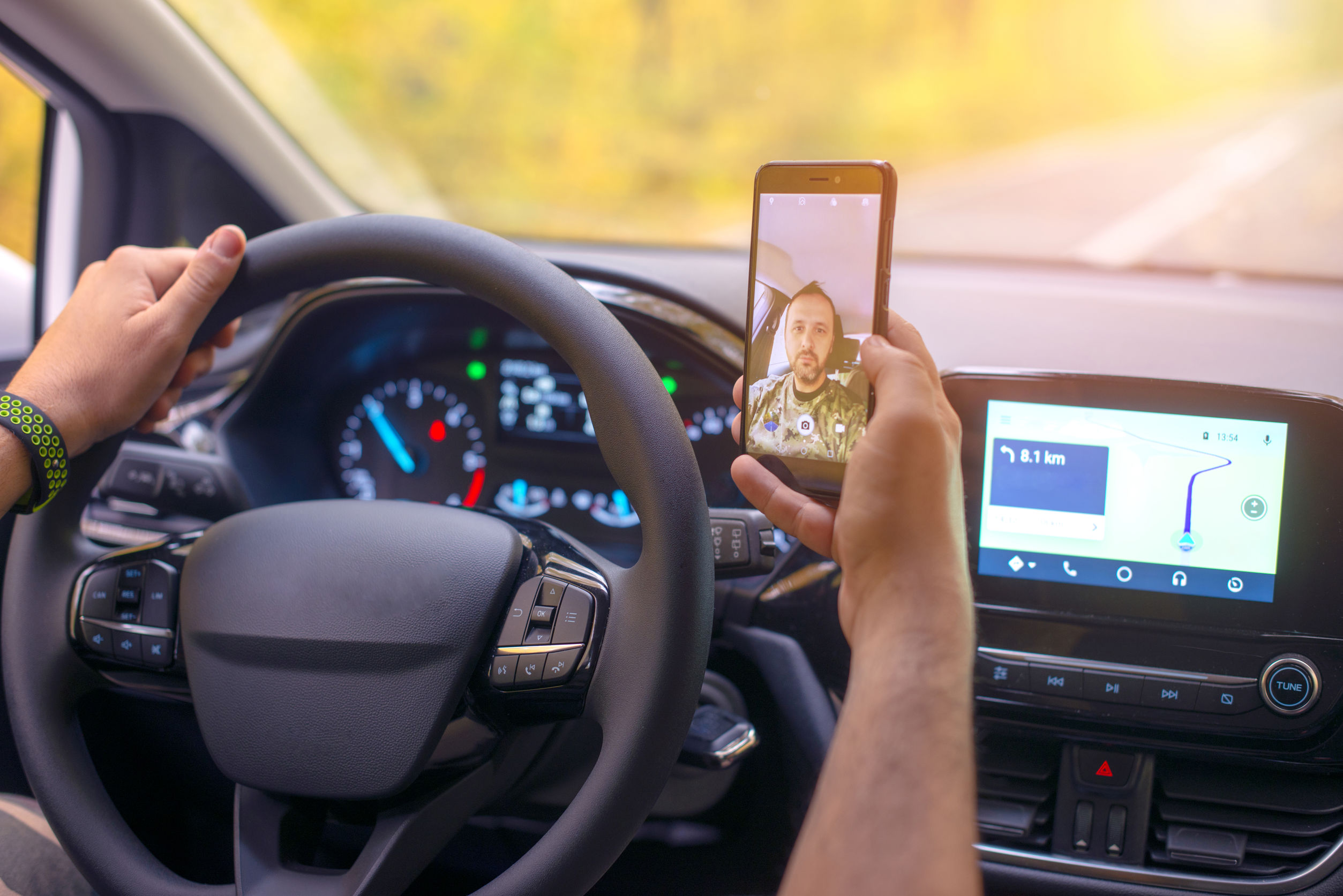 Distracted driving accident attorneys